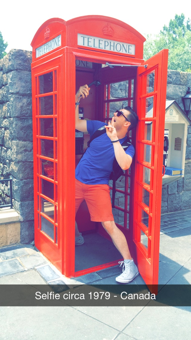 Admittedly, I wish this phone booth was a TARDIS