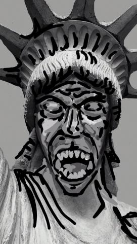 Weeping Liberty!
