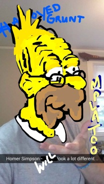Oldschool Abe Simpson